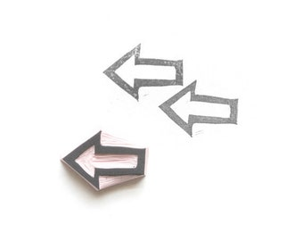 Arrow Rubber Stamp VI by tripolo -- Arrow Stamp