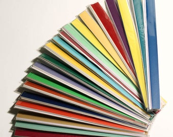 Quilling paper strips. Colors: Red-Yellow. 3mm*270mm. 100 pxs. Huge selection of colors from the catalog.