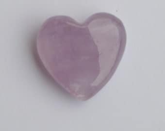 Amethyst Heart Gemstone