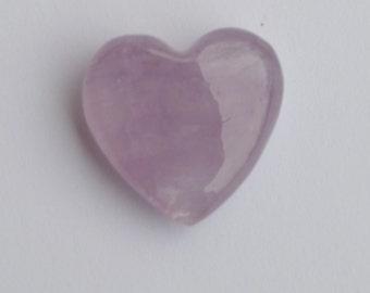 Amethyst Heart Gemstone