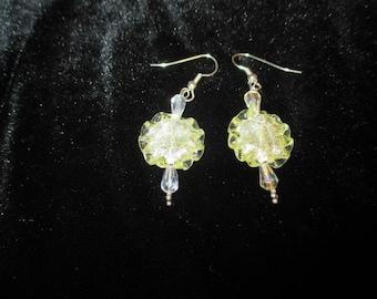 Vintage Lemon Zest Earrings
