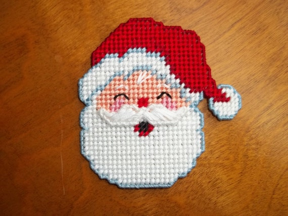 Items similar to santa claus refrigerator magnet needle