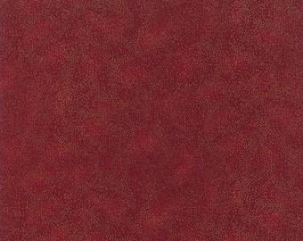 Hoffman Fabrics Scarlet w/Metallic Silver Sparkles 526