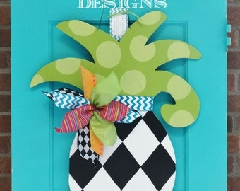 Small Pineapple Door Hanger, Door Decoration