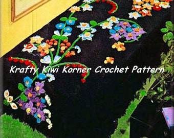 Crochet Bed Spreads Patterns; 5 Patterns for 2.99 Dollars.