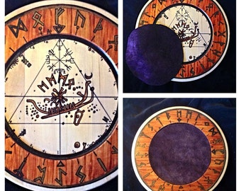 Futhark Rune Divination Board