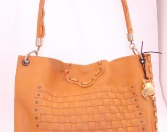 Leather jewel bag