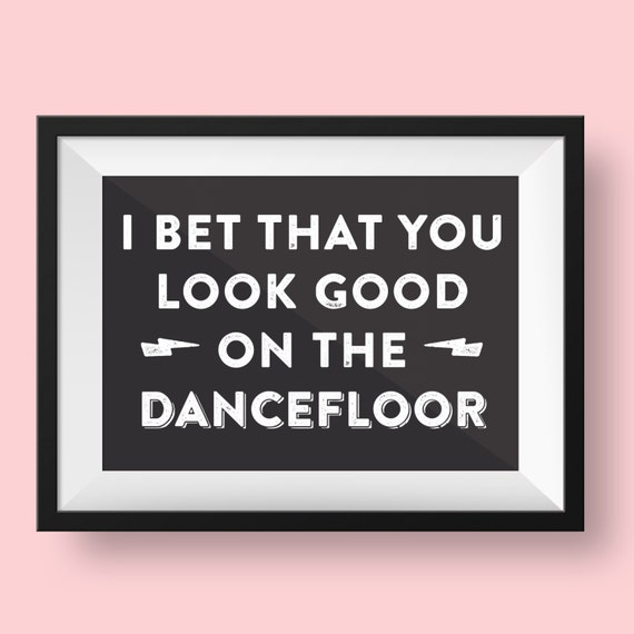 Bet you look good on the dancefloor tablatura mint coin crypto currency exchanges