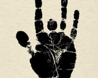 Grateful Dead Jerry Garcia Hand (Large) Lot Shirt Black Logo   Men's