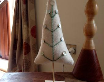 SALE hand made felt xmas tree