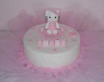 Hello kitty cake topper Etsy