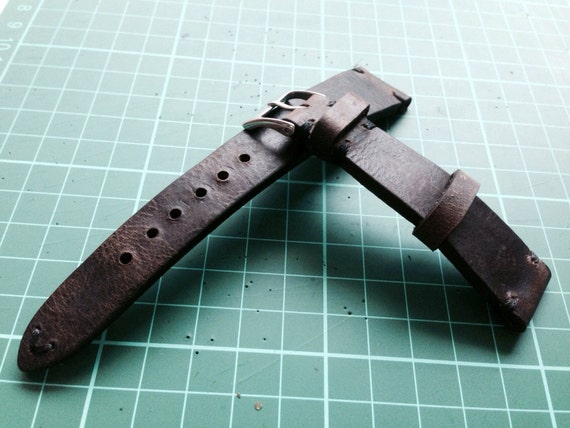 leather watch band, dark brown, genuine leather watch strap, handmade for Rolex, IWC, Strap Replacement, 18mm/19mm/20mm lug, Free Shipping