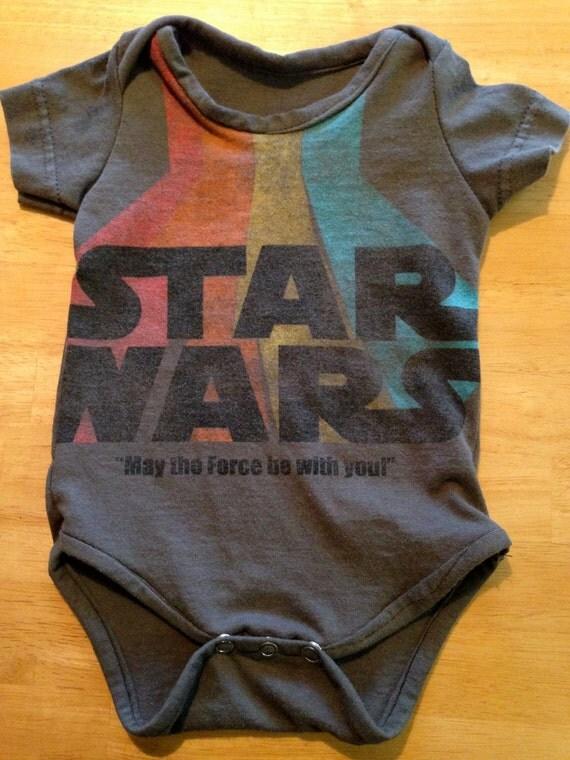 Cool Recycle Logo Star Wars Baby Onesie ...