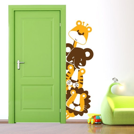 Items similar to 00814 sticker wall stickers wall stickers - Stickers per camerette bambini ...