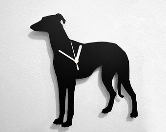 Greyhound Dog - Wall Clock