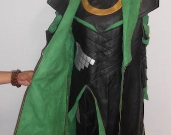 loki laufeyson costume from Avengers