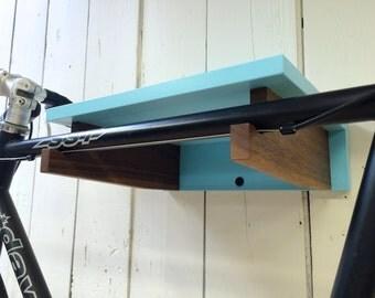 Modern Indoor Bike Shelf