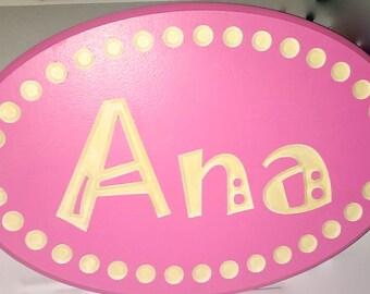 Children's Glow-in-the-Dark Name Sign