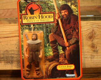 Robin Hood Prince of Thieves - Little John with Quarterstaff Action Figure