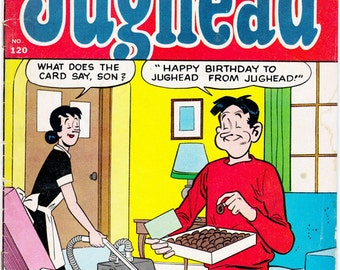 Archie Comics Series: Archie's Pal Jughead number 120- May 1965