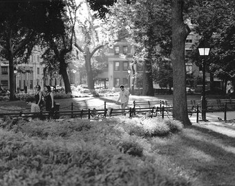 Late Afternoon in Washington Square Park, Greenwich Village