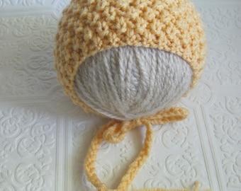 Arianna Bonnet - Knitting Pattern - Newborn
