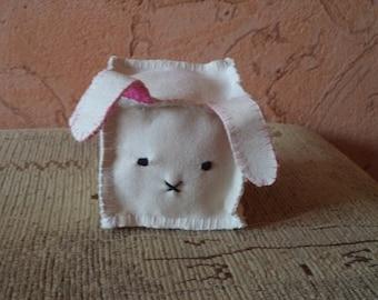 Funny Bunny-cube; Забавный кролик-куб