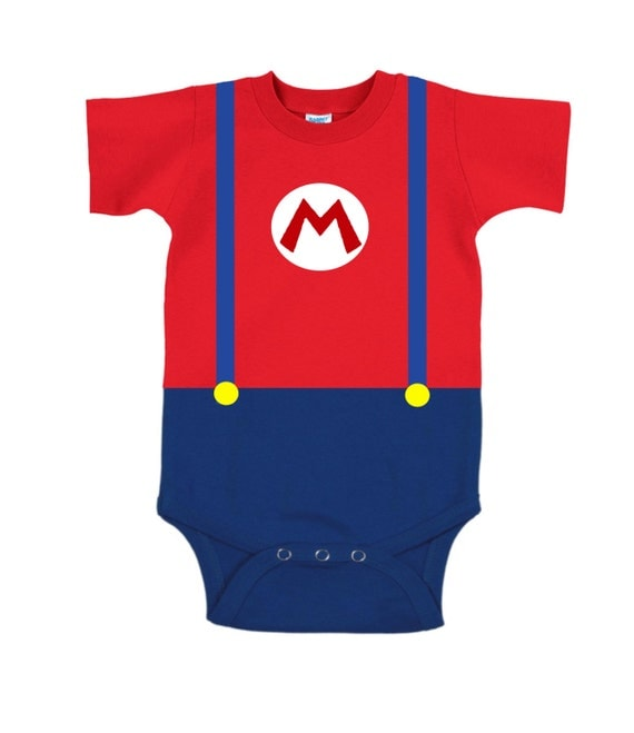 Super Mario Brothers Onesie