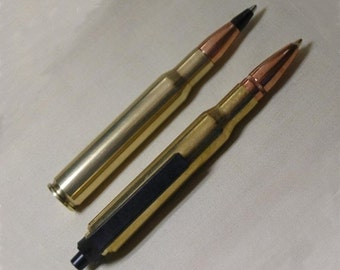 Bullet Pen Set 30-06 Mini Combo - Retractable and Non-Retractable Pen