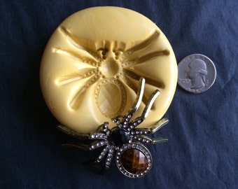 Large Spider Silicone Mold