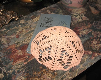 Kippah / Fascinator Peach