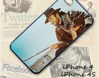 Clint Eastwood cell phone Case / Cover for iPhone 4, 5, Samsung S3, HTC One X, Blackberry 9900, iPod touch 4 / 151