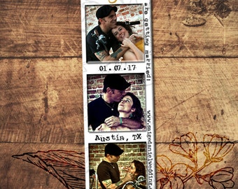Photo Booth Save The Date Magnets, Photobooth Magnet Invitations, Wedding Magnet Sample, Free Samples