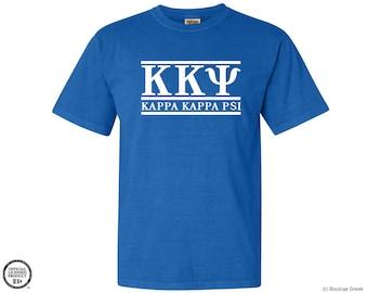 KKY Kappa Kappa Psi Classic Letters Fraternity Tshirt