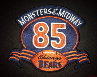 Chicago bears '85 season collectable patch