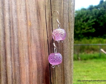 Iridescent Lilac Earrings