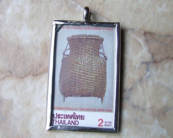 Thailand stamp pendant free shipping