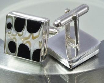 Troca Sterling Silver Cufflinks