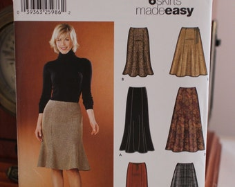 Simplicity 5914 Skirt Pattern Sizes 6-12