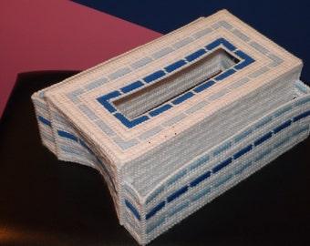 Tissue box tv remote holder