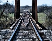 "Photography by Dalton Aiken ""Down the Tracks"" (Free Shipping to Continental U.S.)"