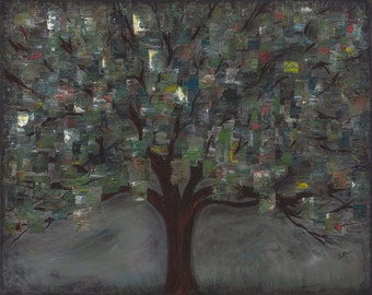Tree of Squares - Giclee Print