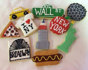 10 New York City Sugar Cookies