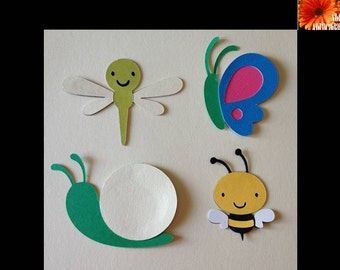 Bug Paper Cut Outs