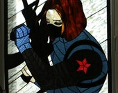 Bucky in Stained Glass