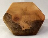 Hexagon, Sycamore, 3in Display Base