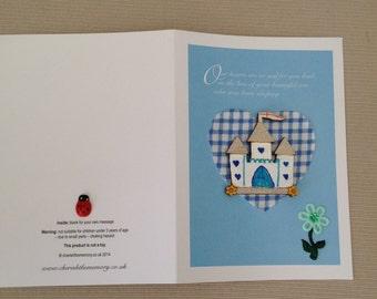 Beautiful son born sleeping card. Sympathy cards, Bereavement cards, Baby bereavement cards, Baby sympathy cards, Baby boy bereavement card