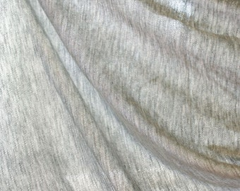 Rayon 100% Single jacquard knited fabric manufactured in Korea / Approx. 2 Yards