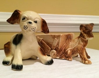 McCoy Puppy Planter