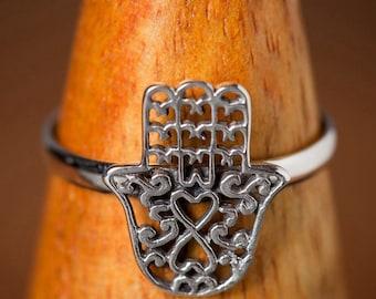Hand of Fatima ring.